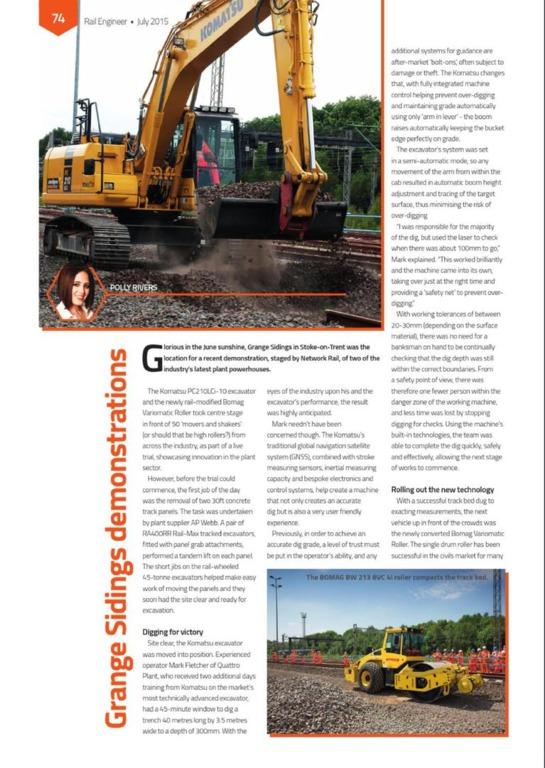 Polly Rivers PR: Rail industry marketing specialists - Portfolio